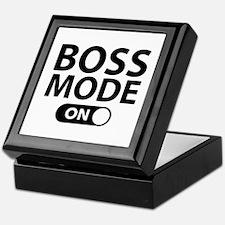 Boss Mode On Keepsake Box