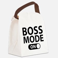 Boss Mode On Canvas Lunch Bag