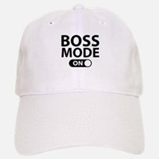 Boss Mode On Baseball Baseball Cap