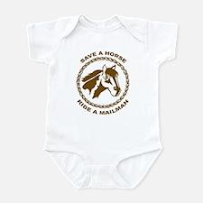 Ride A Mailman Infant Bodysuit