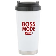 Boss Mode On Travel Mug