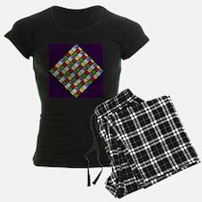 Five Elements Tiled Pajamas