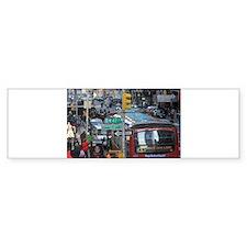 Super! Times Square New York - Pr Bumper Sticker