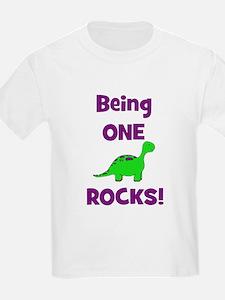 CUSTOM WILL Being One Rocks T-Shirt