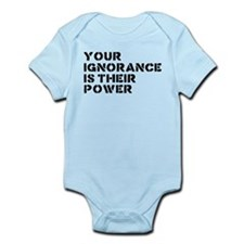 Your Ignorance Is Their Power Infant Bodysuit