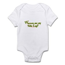 Wanna See My Yule Log? Infant Bodysuit