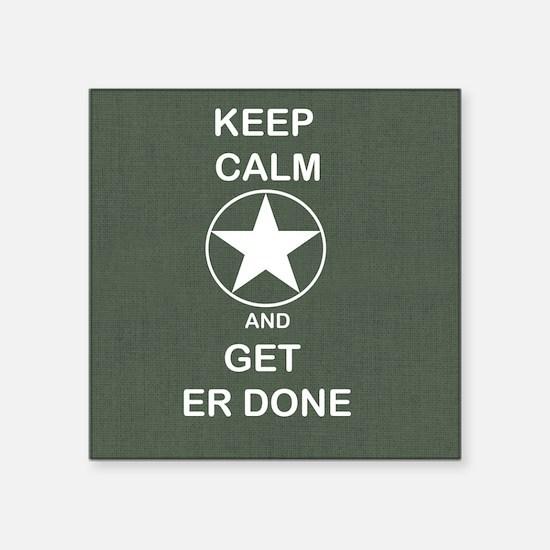 Keep Calm and Get ER Done Sticker