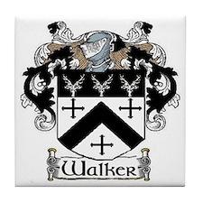 Walker Coat of Arms Tile Coaster