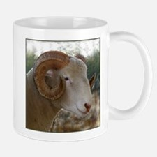 Horned Dorset Ram Headstudy Mug