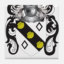 Bullis Coat of Arms Tile Coaster