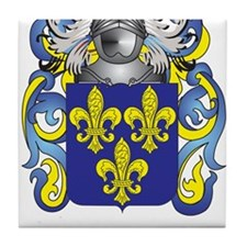 Burch Coat of Arms Tile Coaster