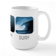 Eat, Pray, Surf Mug