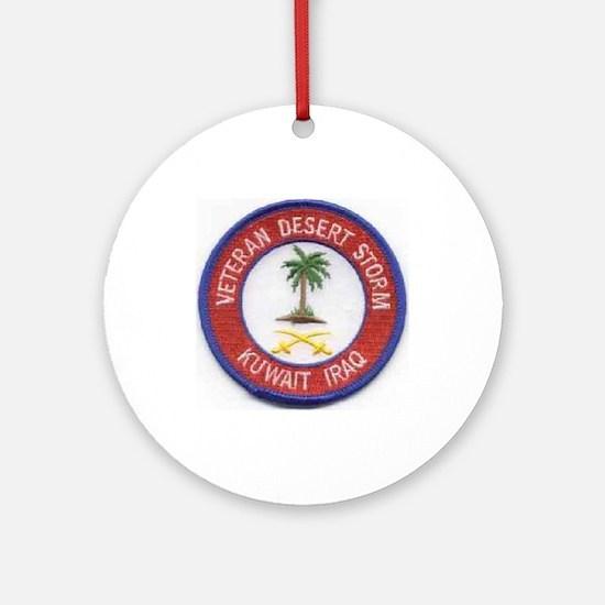 Desert Storm/Kuwait/Iraq.. Ornament (Round)