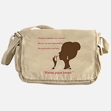 Bless Your Heart Messenger Bag