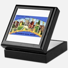 Norman Oklahoma Greetings Keepsake Box
