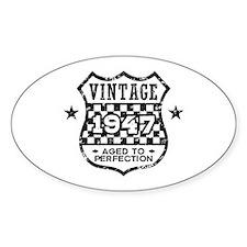 Vintage 1947 Decal