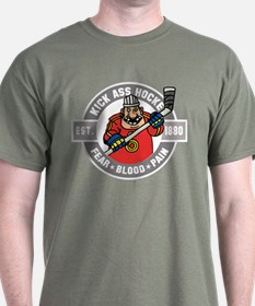 Kick Ass Hockey T-Shirt