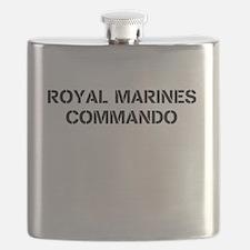 Unique Royal marines Flask