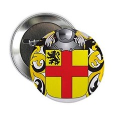 """Burke Coat of Arms 2.25"""" Button"""