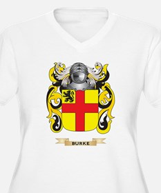 Burke Coat of Arms Plus Size T-Shirt
