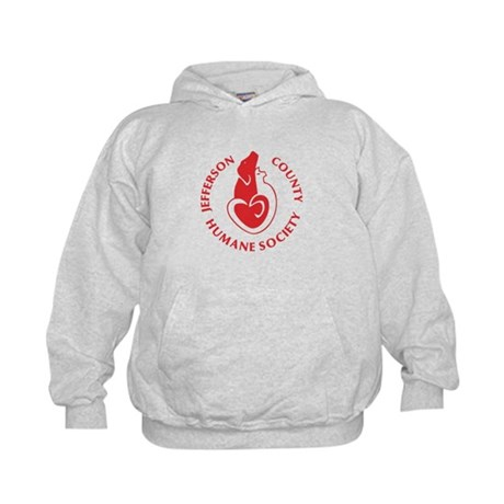 Kids Hoodie With HSJC Logo And Love