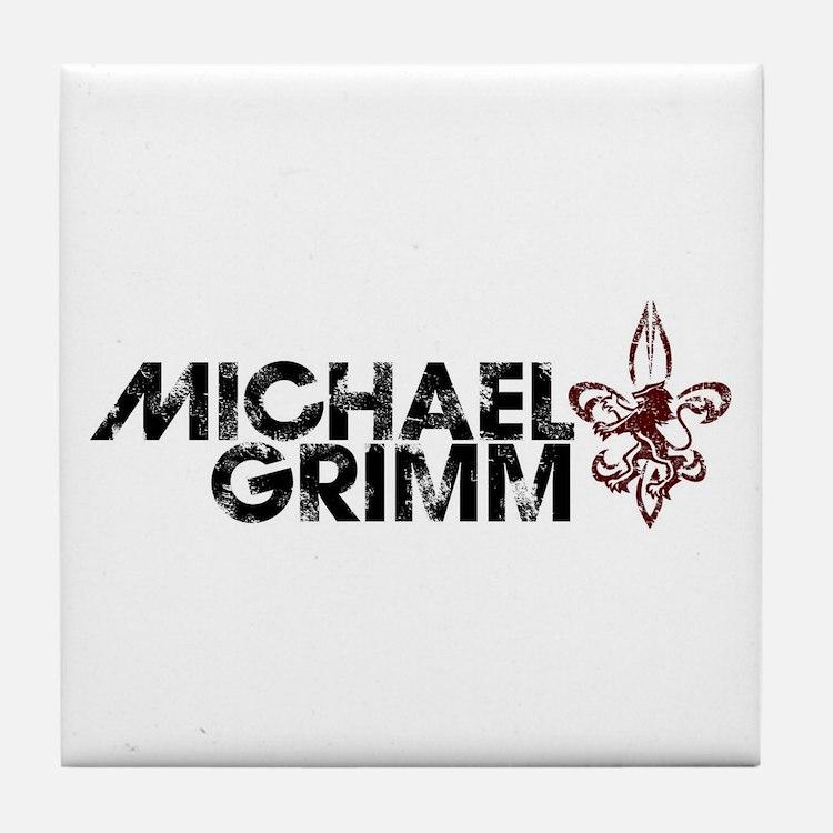 Michael Grimm Tile Coaster