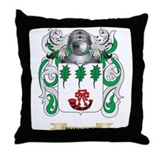 Burnett Coat of Arms Throw Pillow