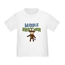 Middle Bro Monkey T-Shirt