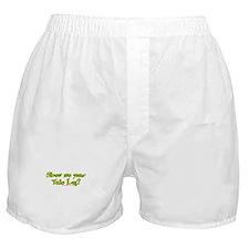 Show Me Your Yule Log Boxer Shorts