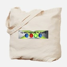 Id Rather Be Playing Xbox Tote Bag