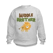 Middle Bro Lion Sweatshirt
