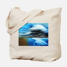 storm over water Tote Bag
