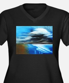 storm over water Plus Size T-Shirt