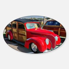 Alex Gray Woodie Photography Decal