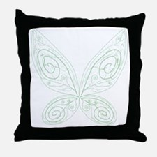Pixie Wings Throw Pillow
