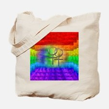 Gay Pride Lesbian Art Tote Bag