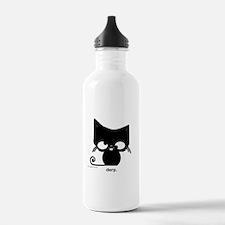 Derp Cat from xangetsu studio Water Bottle