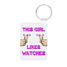 This Girl Likes Watches Keychains