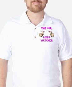 This Girl Likes Watches T-Shirt