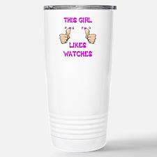This Girl Likes Watches Travel Mug
