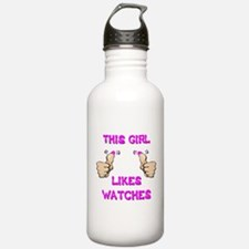 This Girl Likes Watches Water Bottle