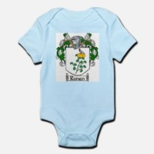 Ronan Coat of Arms Infant Bodysuit