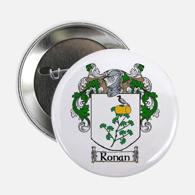 """Ronan Coat of Arms 2.25"""" Button (10 pack)"""
