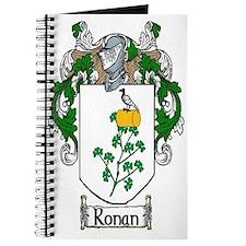 Ronan Coat of Arms Journal
