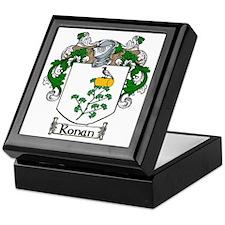 Ronan Coat of Arms Keepsake Box