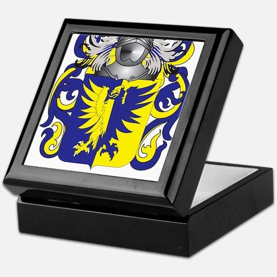 Bustos Coat of Arms Keepsake Box
