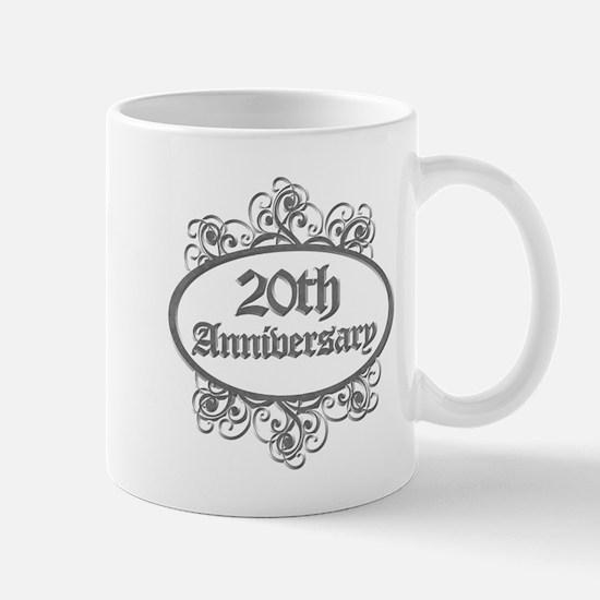20th Wedding Aniversary (Engraved) Mug