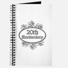 20th Wedding Aniversary (Engraved) Journal