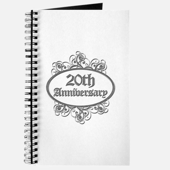 20th Wedding Aniversary (Engraved) Journal