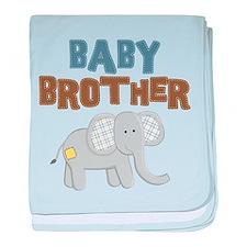 Baby Bro Elephant baby blanket